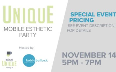 Join us November 14th at Piece Unique!